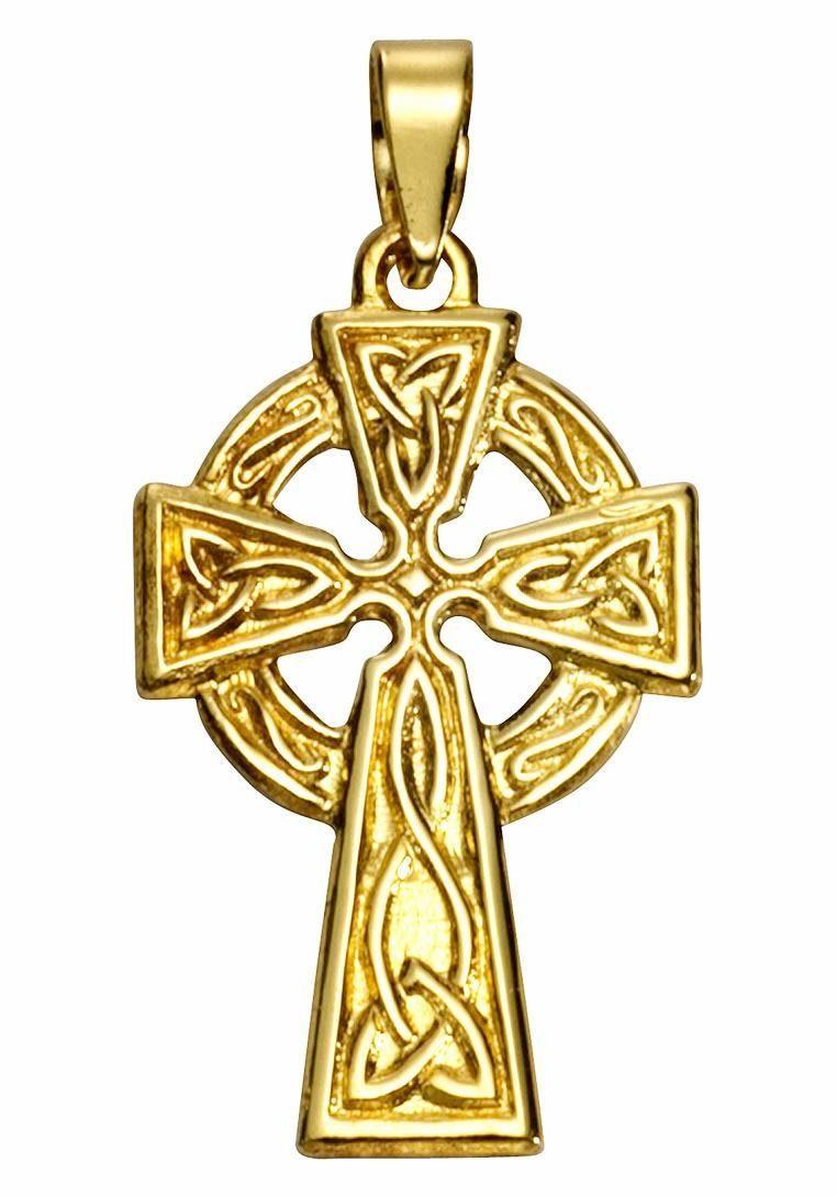 Firetti Kettenanhänger »Keltisches Kreuz«