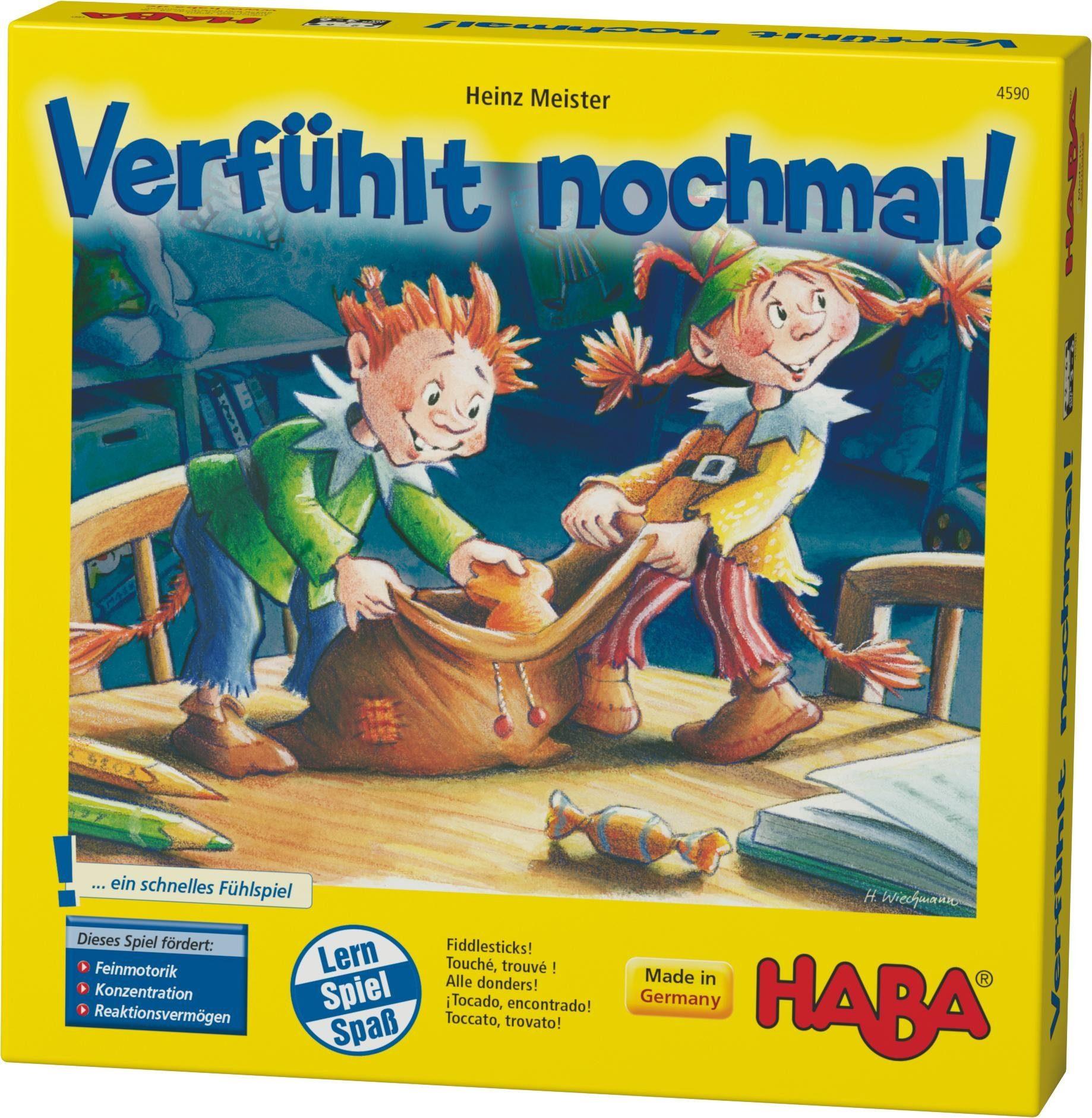 HABA® Kinderspiel, »Verfühlt nochmal!«