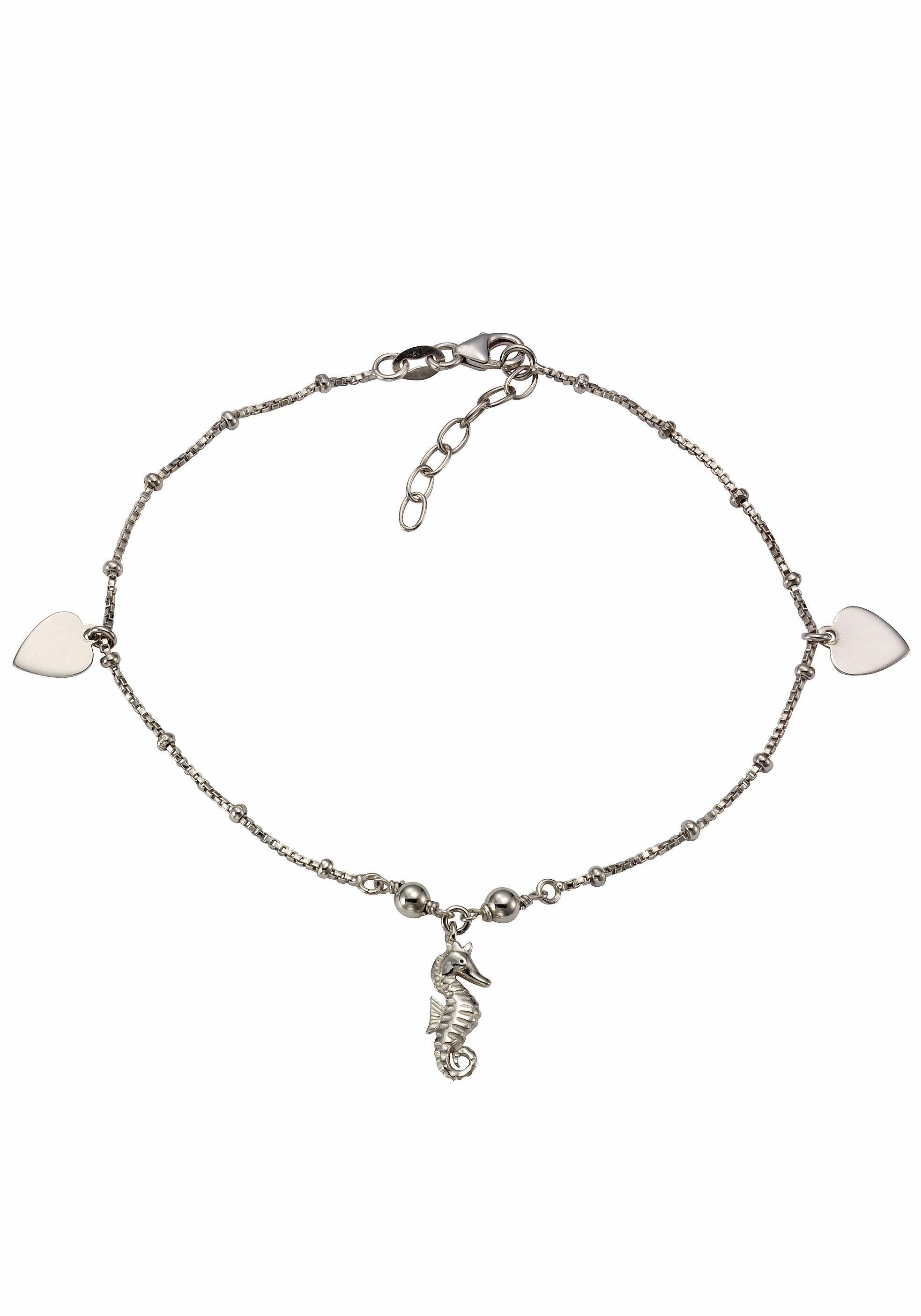 Firetti Fußkette »Seepferdchen/Herz«