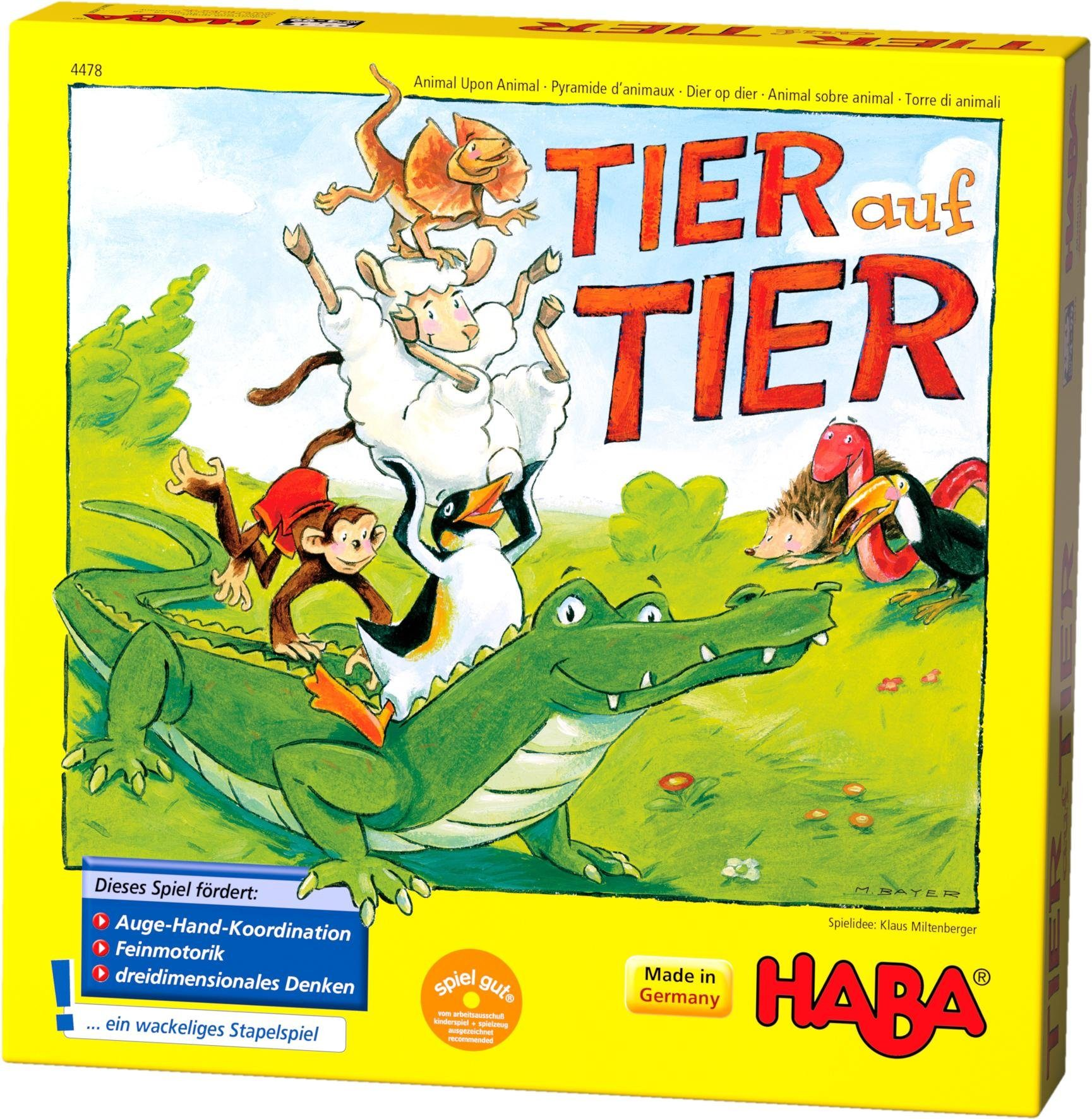 HABA® Kinderspiel, »Tier auf Tier«