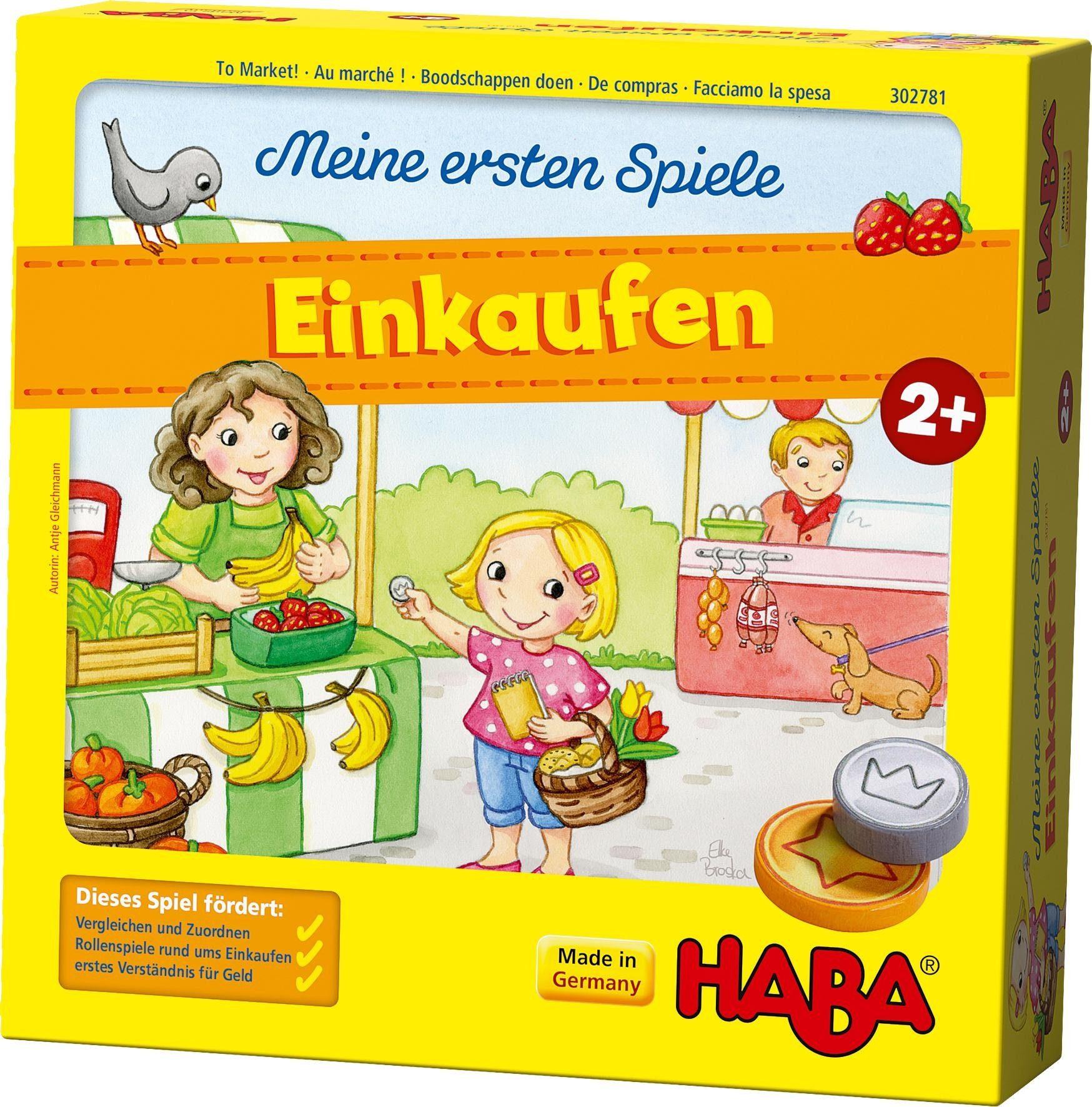 HABA® Kinderspiel, »Meine ersten Spiele - Einkaufen«