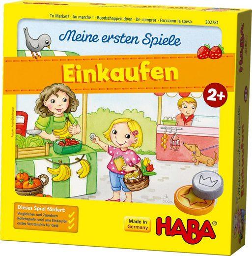 Haba Spiel, »Meine ersten Spiele - Einkaufen«, Made in Germany