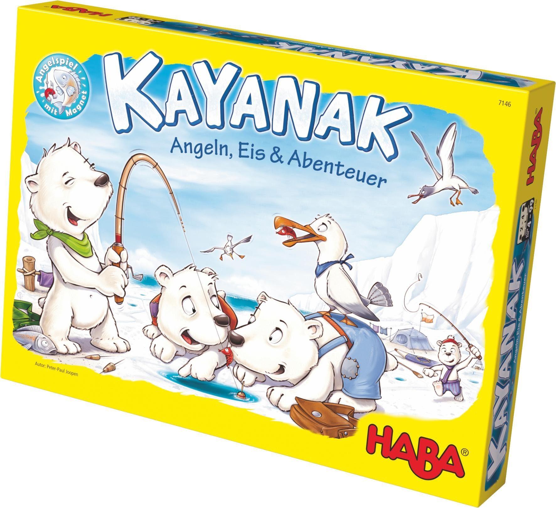 HABA® Kinderspiel, »Kayanak - Angeln, Eis und Abenteuer«