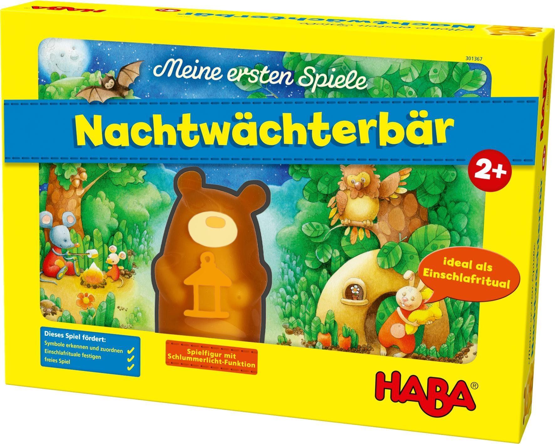 HABA® Kinderspiel, »Meine ersten Spiele - Nachtwächterbär«