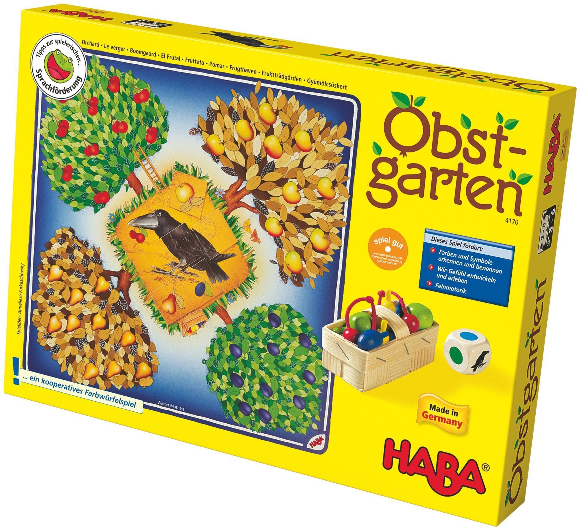 Haba Würfelspiel »Obstgarten«, für Kinder