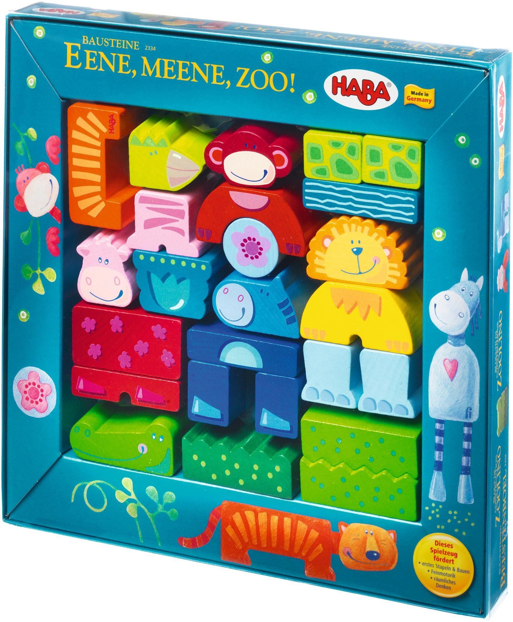 HABA® Bausteine, »Ene, mene, Zoo!«