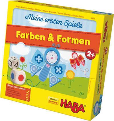 Haba Spiel, »Meine ersten Spiele - Farben und Formen«, Made in Germany