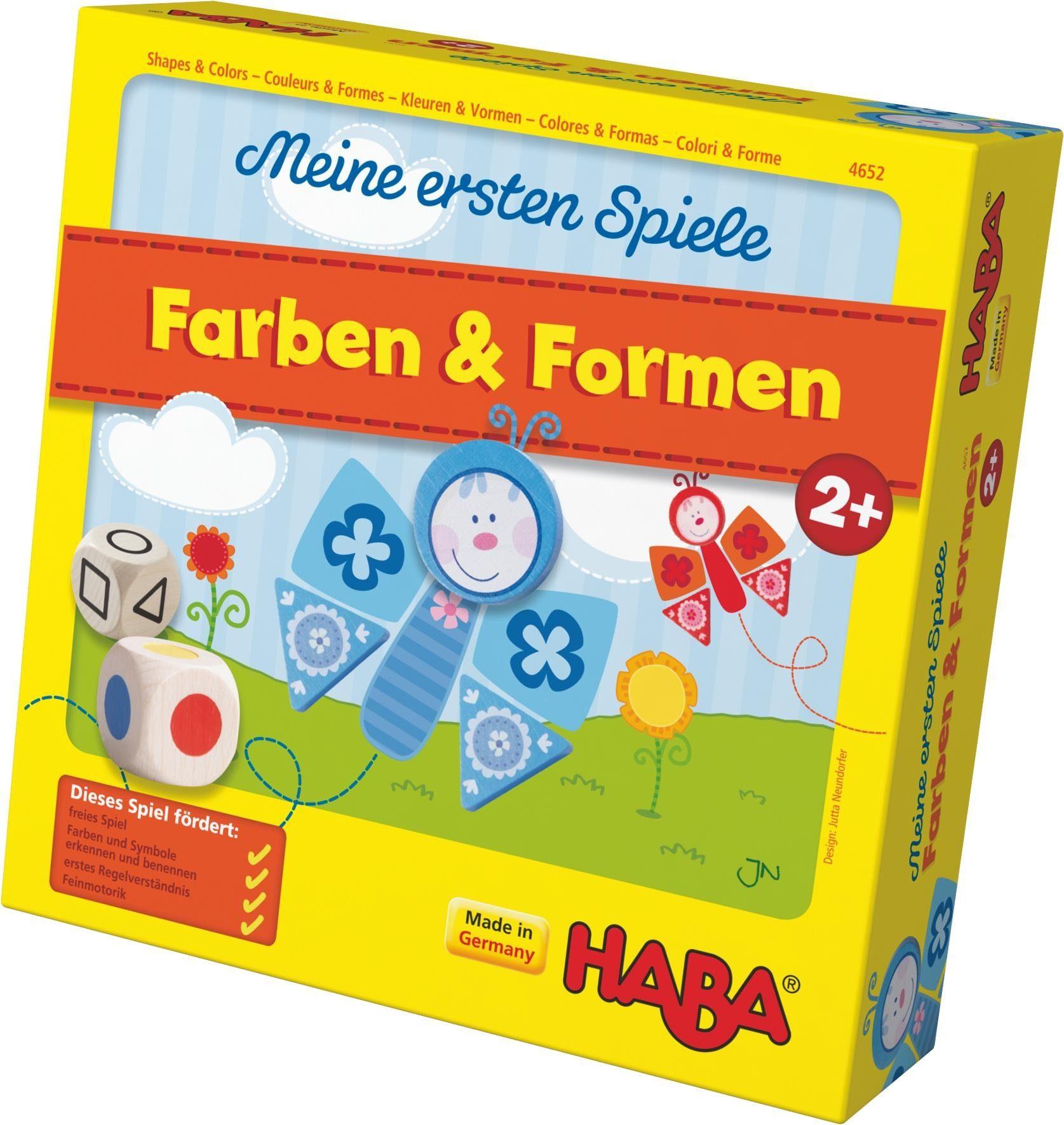 HABA® Kinderspiel, »Meine ersten Spiele - Farben und Formen«