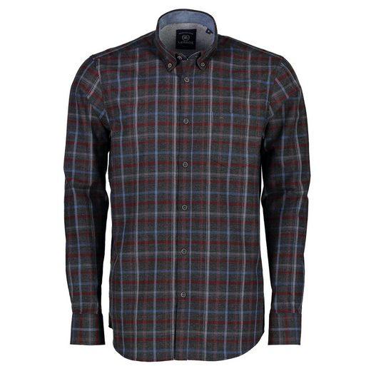 LERROS Langarmhemd aus leichtem Flanell