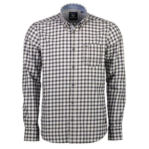 LERROS Flanellhemd mit gewebtem Karo