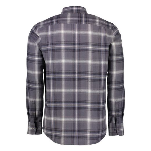 LERROS Langarmhemd in Flanell-Check