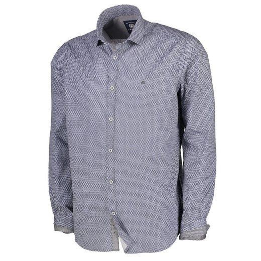 LERROS Langarmhemd mit Rautenprint