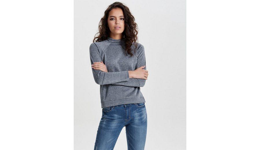 Spielraum Extrem Jacqueline de Yong Detailreiches Sweatshirt Auslass Günstiger Preis Real Für Verkauf 4ynBHidP