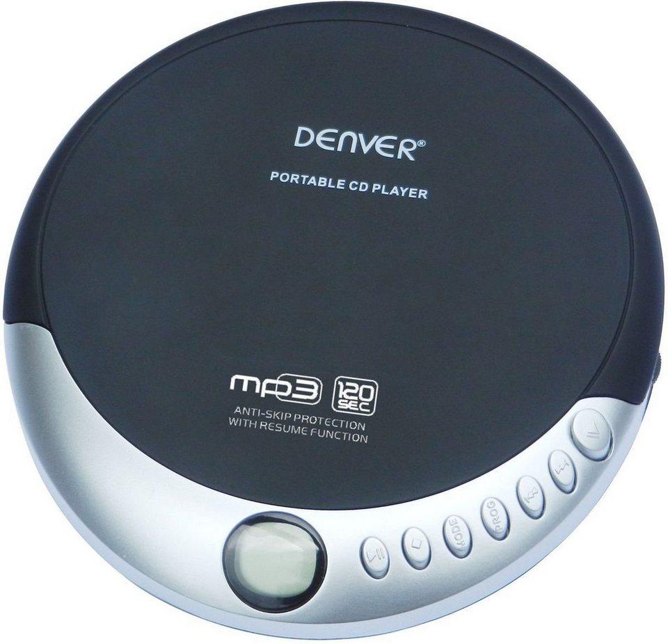 denver tragbarer cd player dmp 389 mit mp3. Black Bedroom Furniture Sets. Home Design Ideas