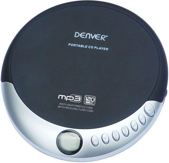 Denver tragbarer CD-Player »DMP-389 mit MP3-Abspielfunktion und Anti-Shock«