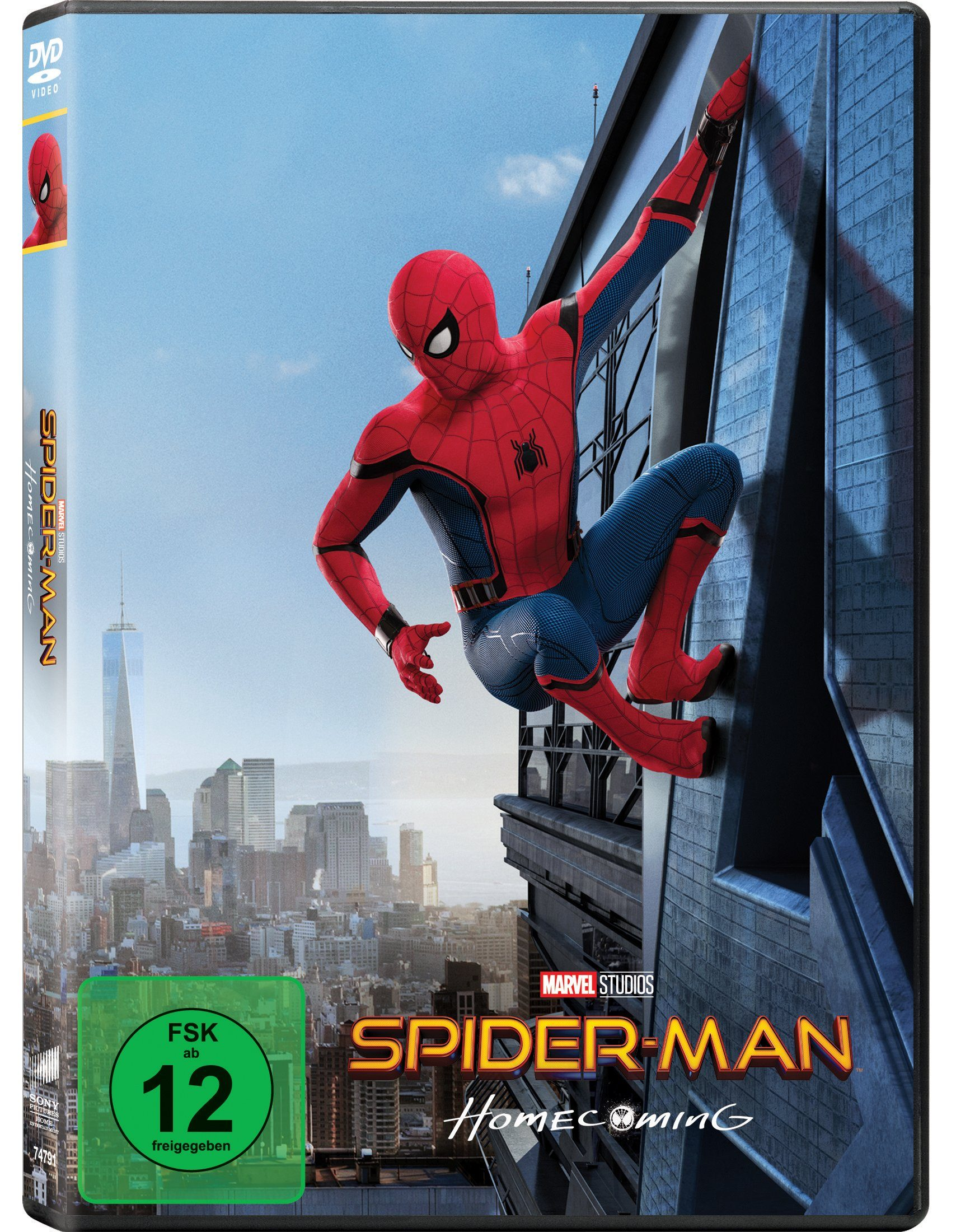 Sony Pictures DVD »Spider-Man: Homecoming«