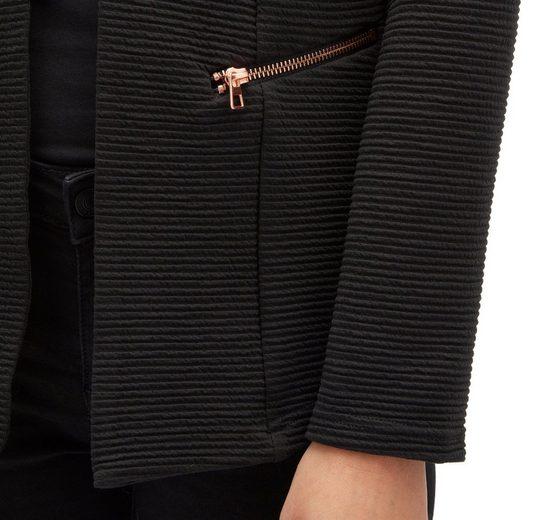 Tom Tailor Denim Sweatblazer mit Taschen