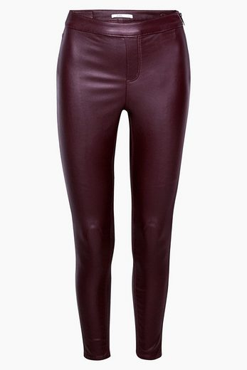 EDC BY ESPRIT Coated Ankle-Treggings mit Stretch