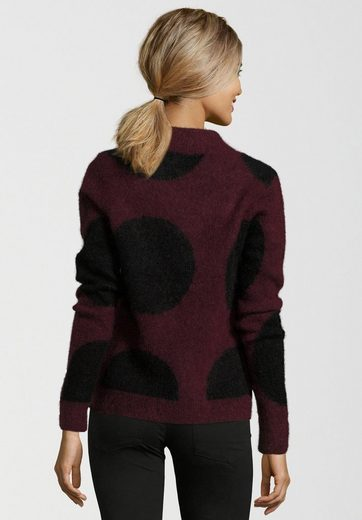 Second Female Knitted Sweaters Knit Lama O-neck, Cozy Knit Structure