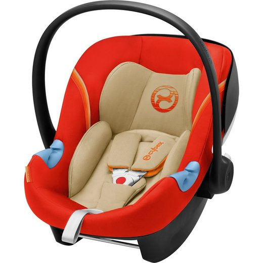 Cybex Babyschale Aton M i-Size, Autumn Gold-Burnt Red