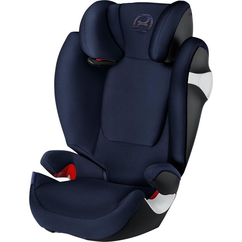 cybex auto kindersitz solution m gold line denim blue. Black Bedroom Furniture Sets. Home Design Ideas