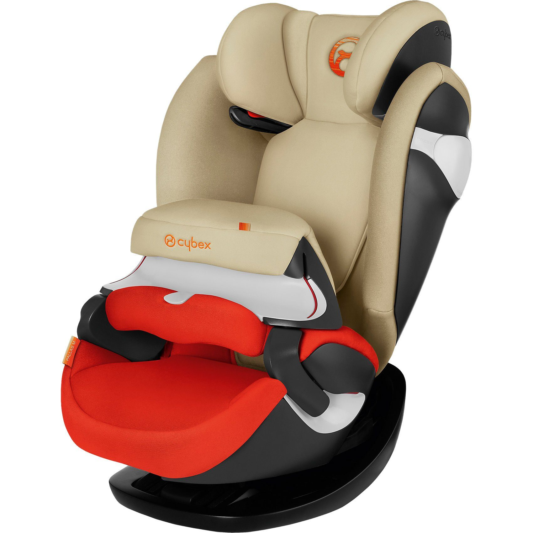 Cybex Auto-Kindersitz Pallas M, Gold-Line, Autumn Gold-Burnt Red