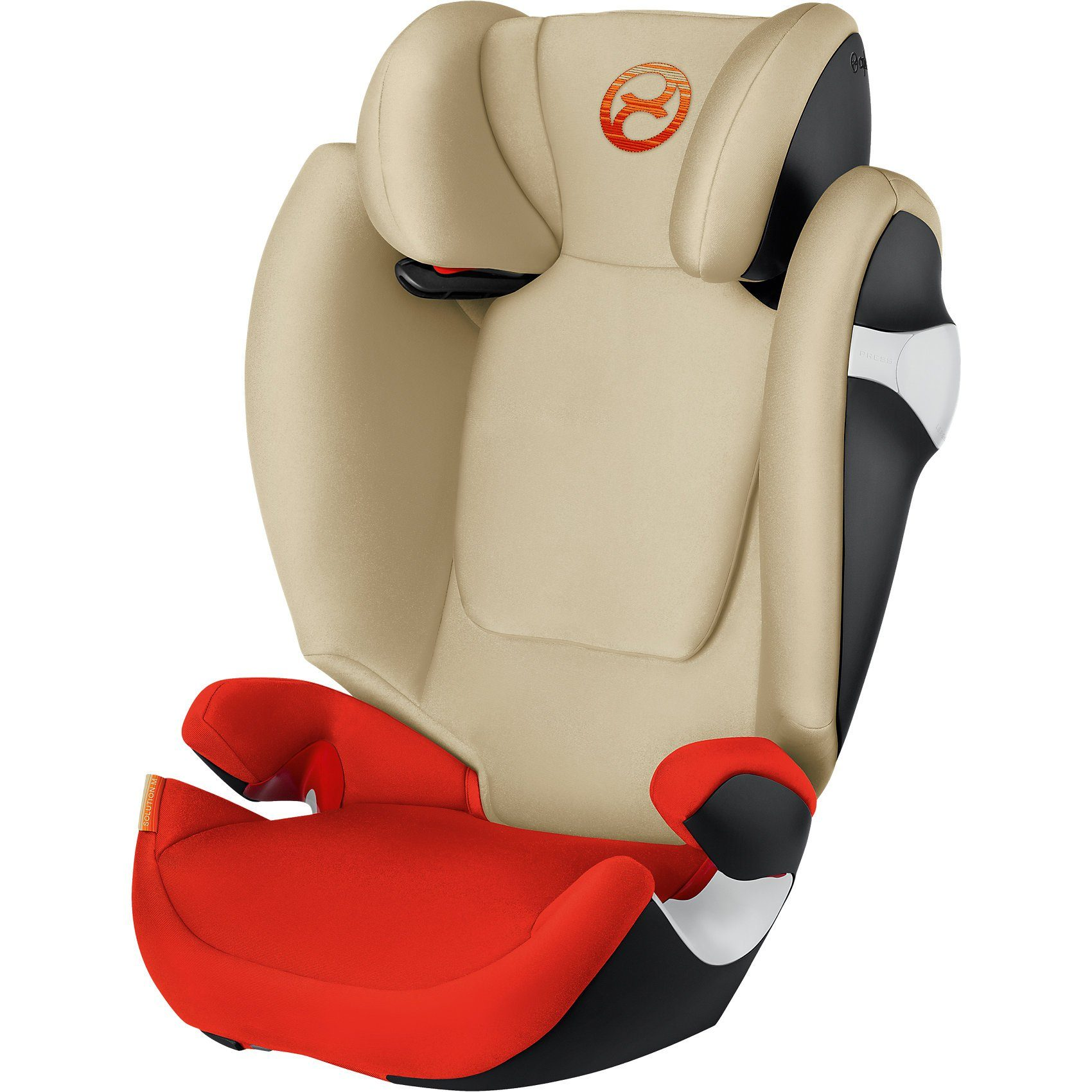 Cybex Auto-Kindersitz Solution M, Gold-Line, Autumn Gold-Burnt Red