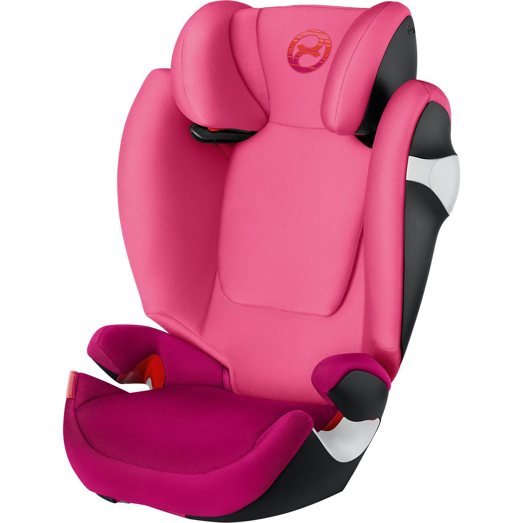 Cybex Auto-Kindersitz Solution M, Gold-Line, Passion Pink-Purple