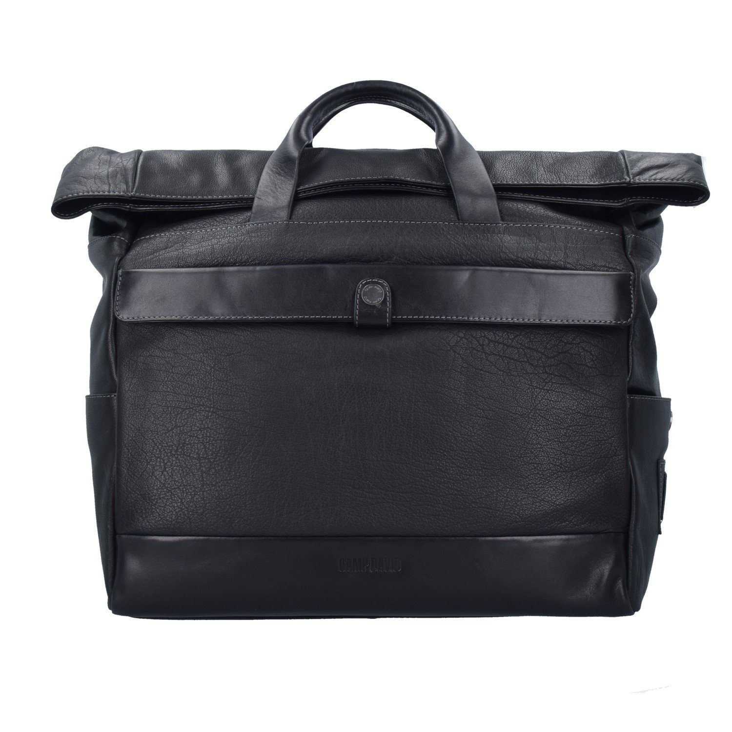 CAMP DAVID Paros Aktentasche Leder 40 cm Laptopfach