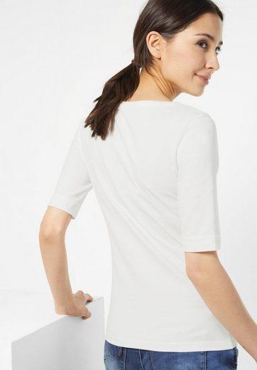 Street One Organic Halbarm Shirt Lenka