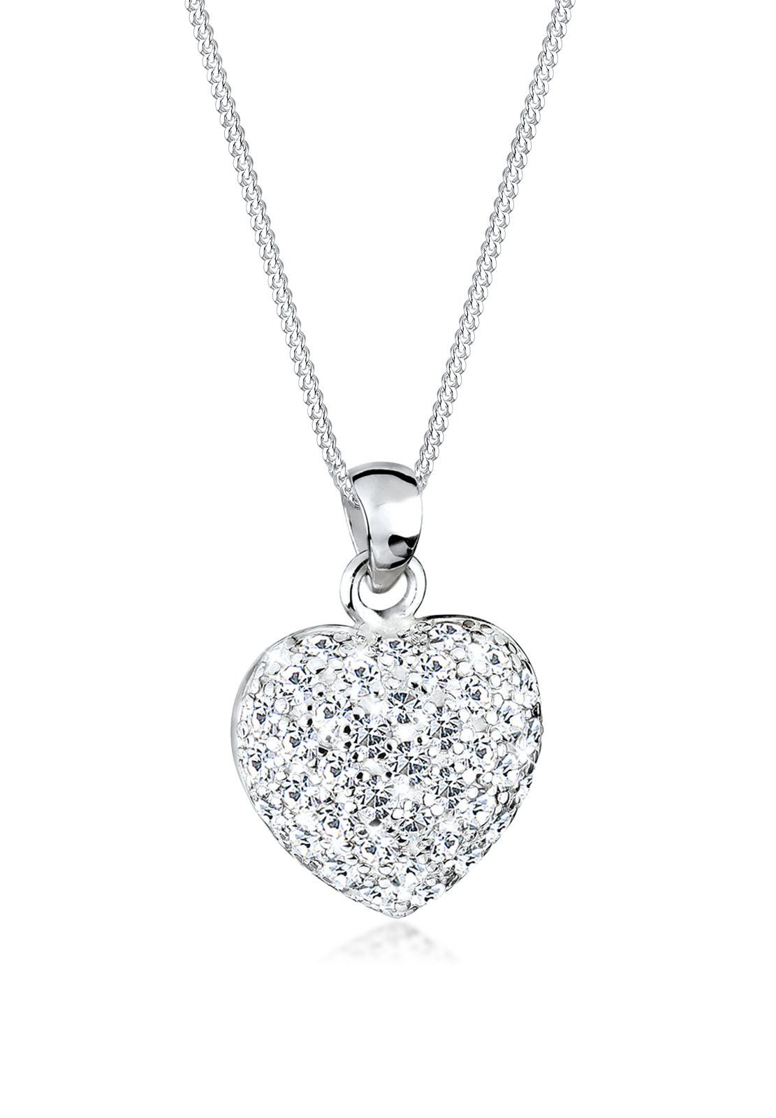 Elli Halskette »Funkelnd Swarovski® Kristalle 925 Sterling Silber«