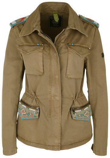 Blonde No.8 Outdoorjacke ST TROPEZ, Schulter- und Taschenklappen gegen schlichte Klappen austauschbar