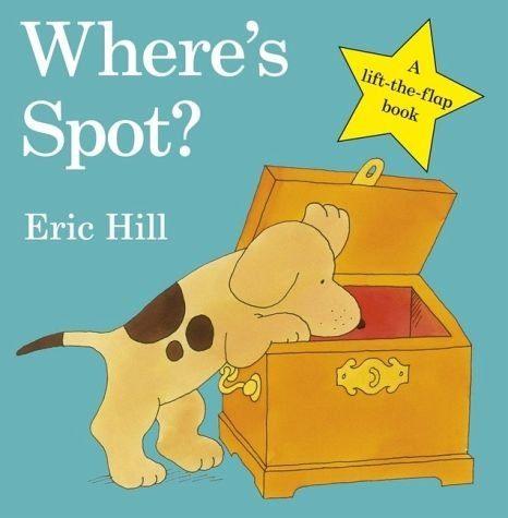 Buch mit Papp-Einband »Where's Spot?«