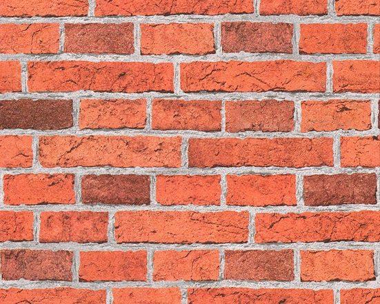 living walls Papiertapete »Il Decoro«, Steinoptik, Backstein, umweltfreundlich