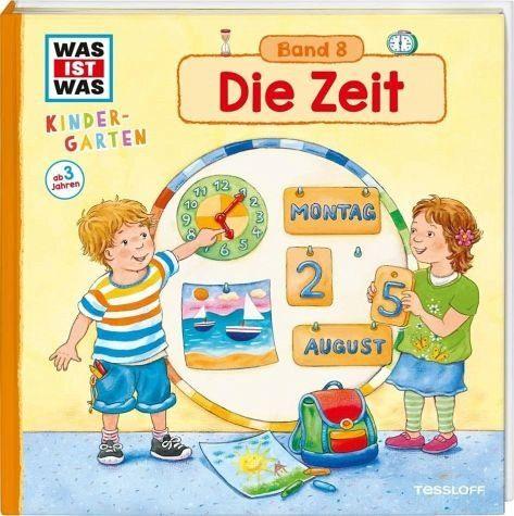 Gebundenes Buch »WAS IST WAS Kindergarten, Band 8. Die Zeit«