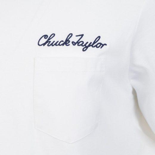 Converse T-Shirt Converse Chuck Script Pocket T-Shirt Herren
