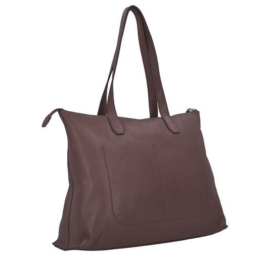 The Bridge Plume Soft Donna Shopper Tasche Leder 40 Cm