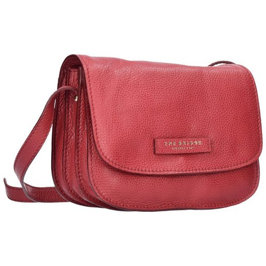 The Bridge Plume Soft Donna Mini Bag Umhängetasche Leder 24 cm