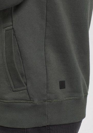 khujo Kapuzensweatshirt VOBAT, mit Logo auf der Front