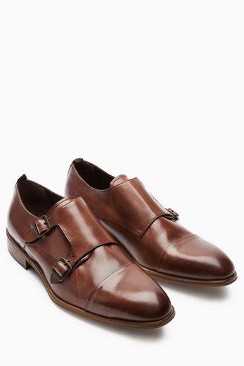 Next Monkstrap-Schuh mit Zehenkappe
