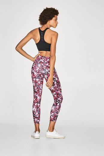 ESPRIT Perfect Fit-Active Pants mit Print, E-DRY