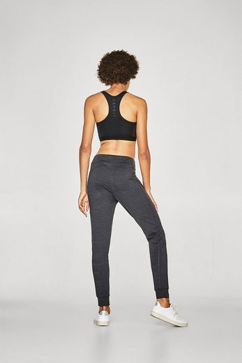 ESPRIT Lockere, melierte Active-Pants, E-DRY