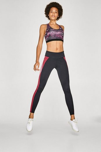 ESPRIT Active-Pants mit Colourblocking, E-DRY