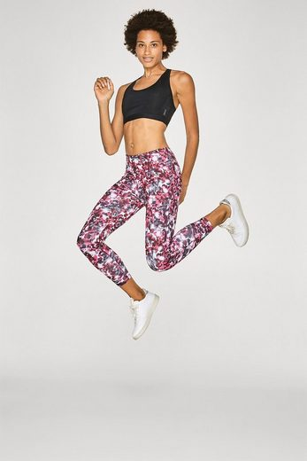 ESPRIT Perfect Fit-Active Pants mit Print, E-DRY