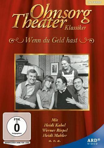 DVD »Ohnsorg Theater: Wenn du Geld hast«