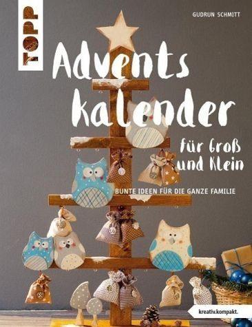 Broschiertes Buch »Adventskalender für Groß und Klein«