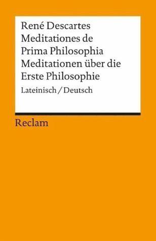 Broschiertes Buch »Meditationen über die Erste Philosophie /...«