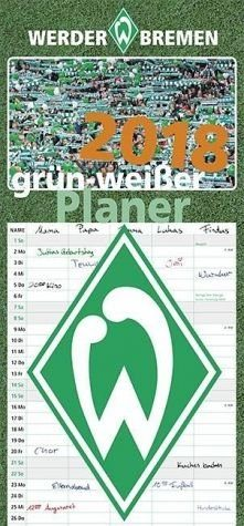 Kalender »Grün-weißer Planer 2018«