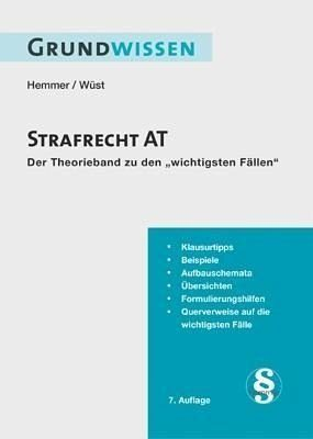 Broschiertes Buch »Strafrecht AT«