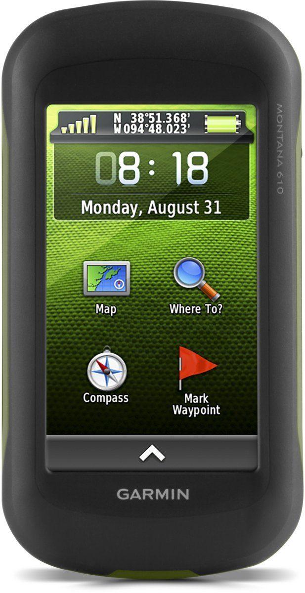 Garmin Outdoor-Navigationsgerät »Montana 610 + TOPO Deutschland V8 Pro«